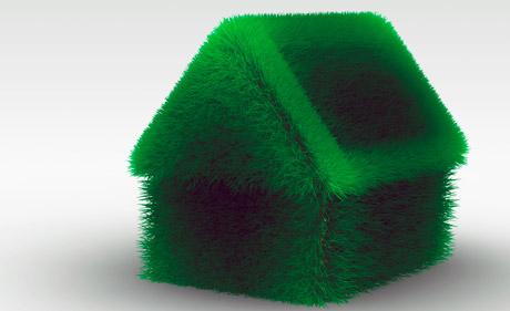 Grünere, umfweltfreundlichere Häuser helfen CO2 zu senken. (Bild: Blödmannsgehilfe, pixelio)