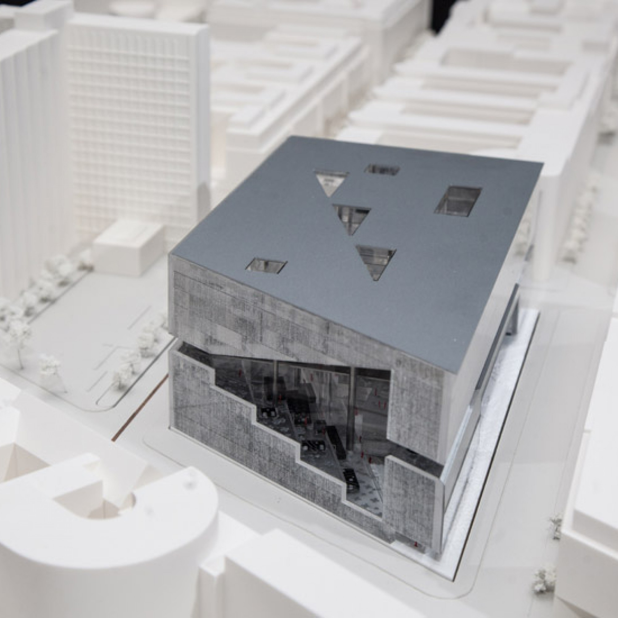 Modell Rem Koolhaas (Bild: PD)