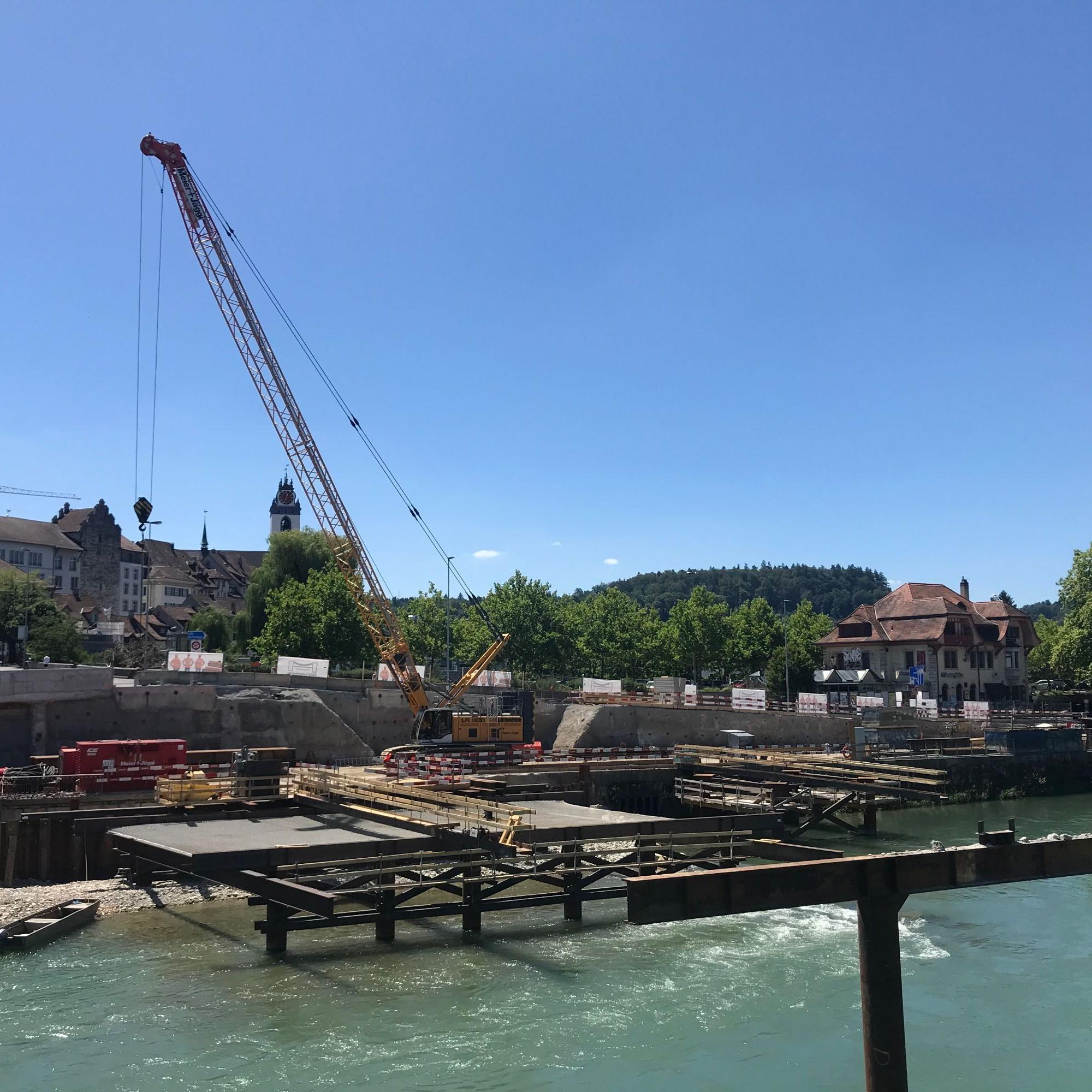 Noch im Juni beginnt der Bau der ersten Wasserbaugrube.