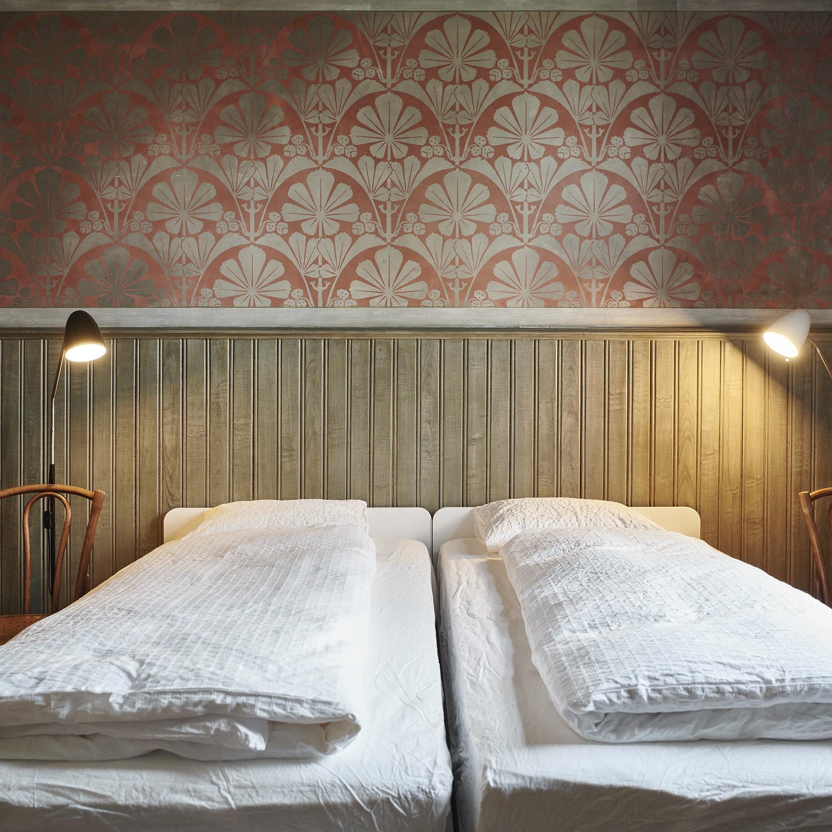 Schlafen wie einst Max Burkhardt: Die ursprüngliche Ausstattung ist komplett erhalten.