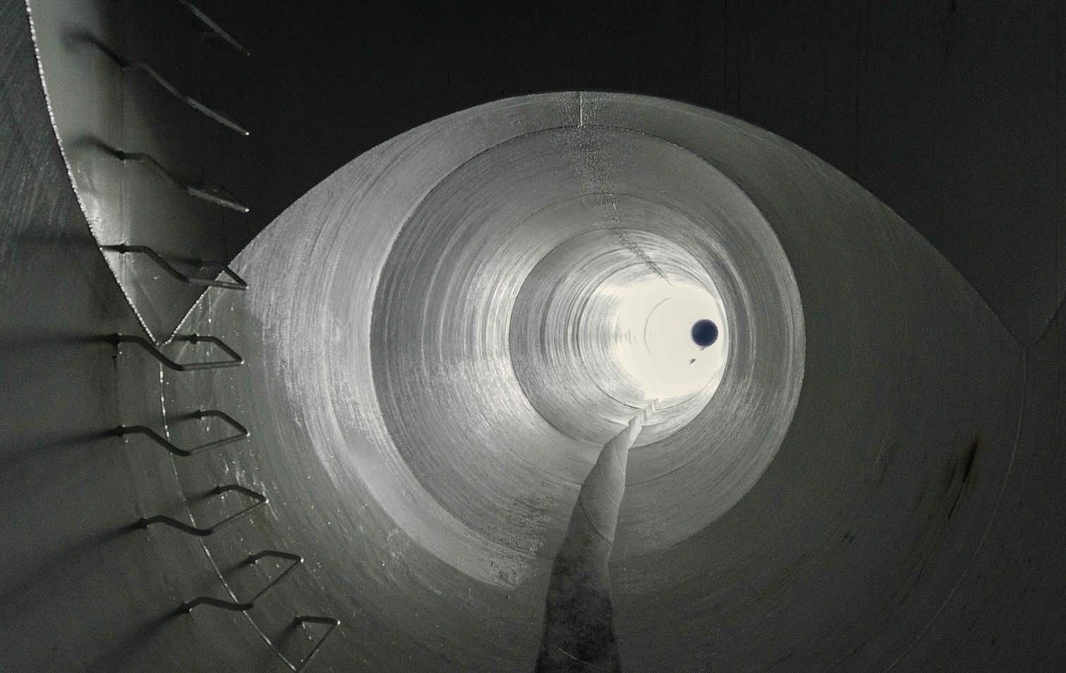 Wasserstollen der Kraftwerke Zervreila