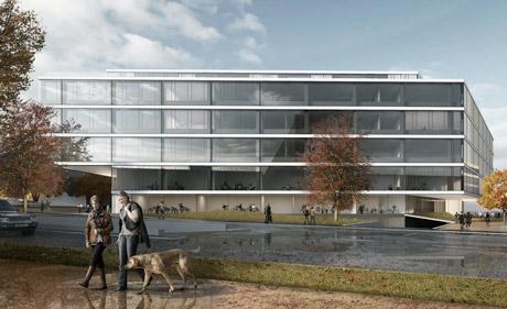 So stellen sich die Architekten das neue Forschungs- und Lehrgebäude vor.  (PD)