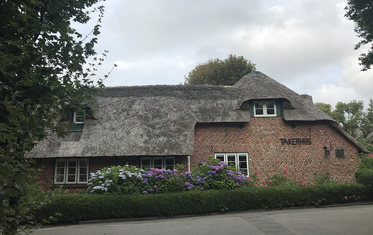 Reetdachhaus auf Sylt