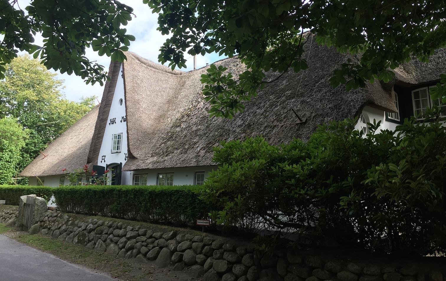 Reetdachhaus in Keitum