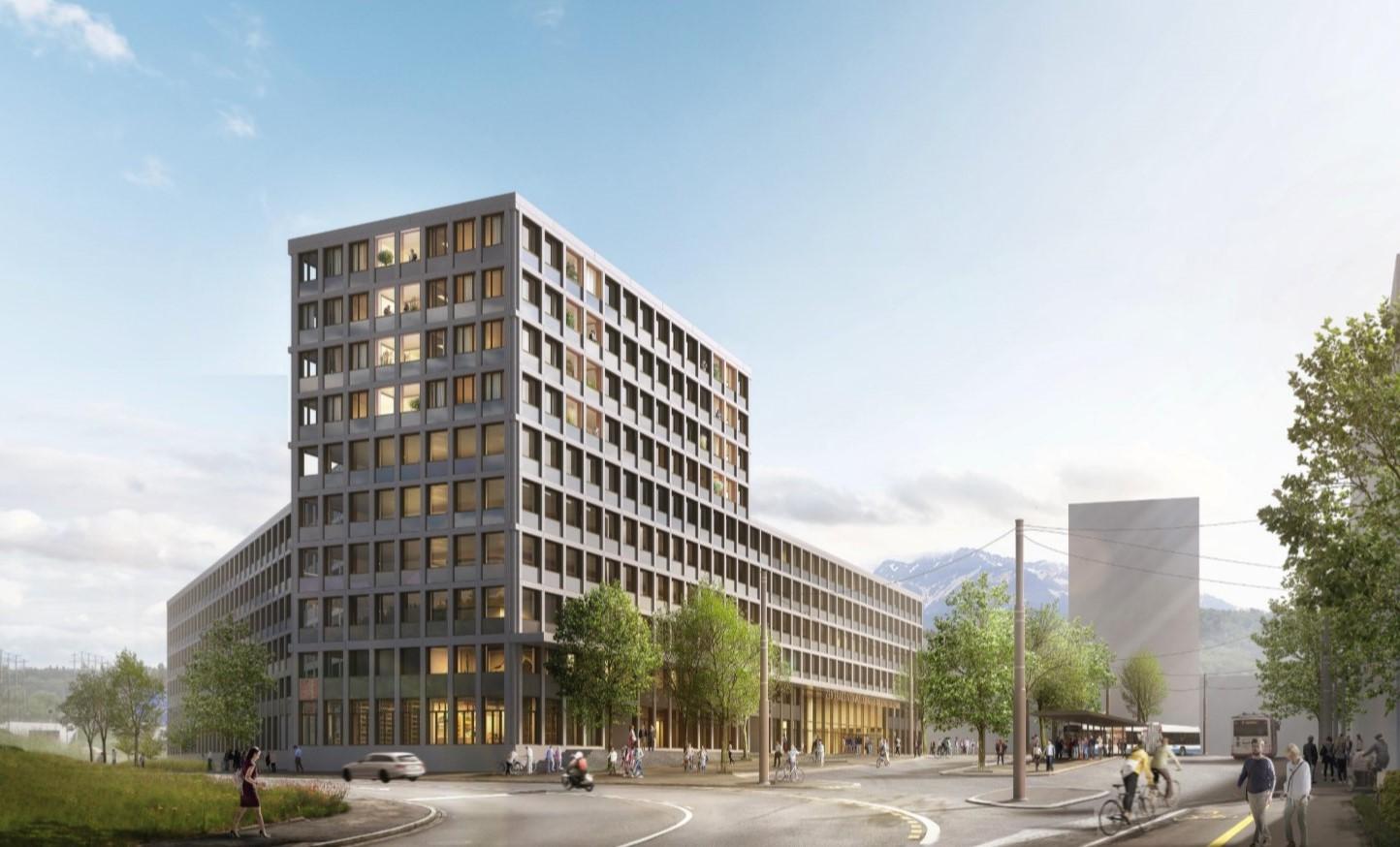 Visualisierung Zentrales Verwaltungsgebäude in Emmen