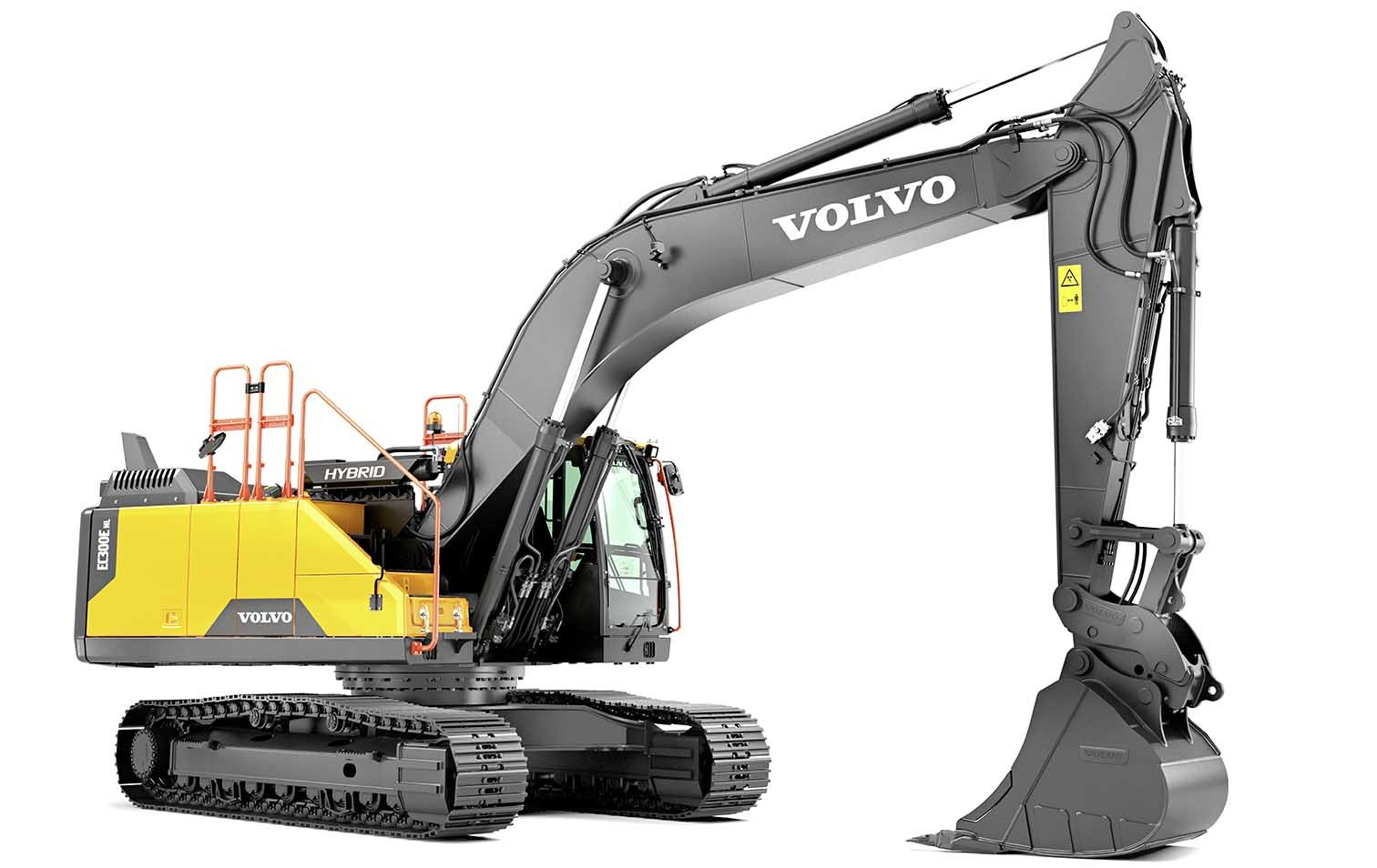 Volvo-Raupenbagger EC300E Hybrid