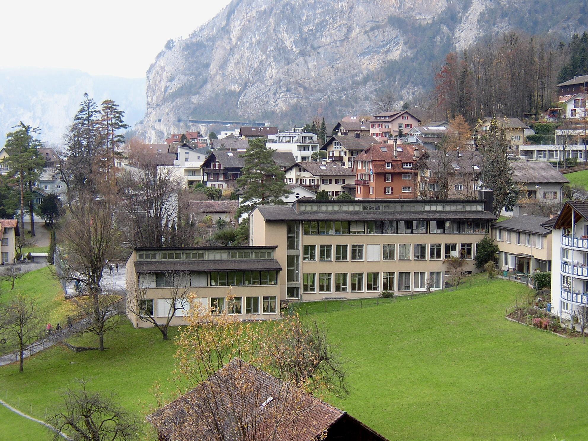 Schulanlage Matte in Flüelen