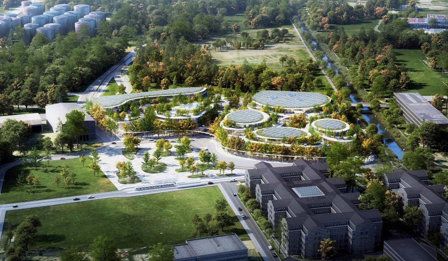 Visualisierung Projekt «Meet» in Glattbrugg