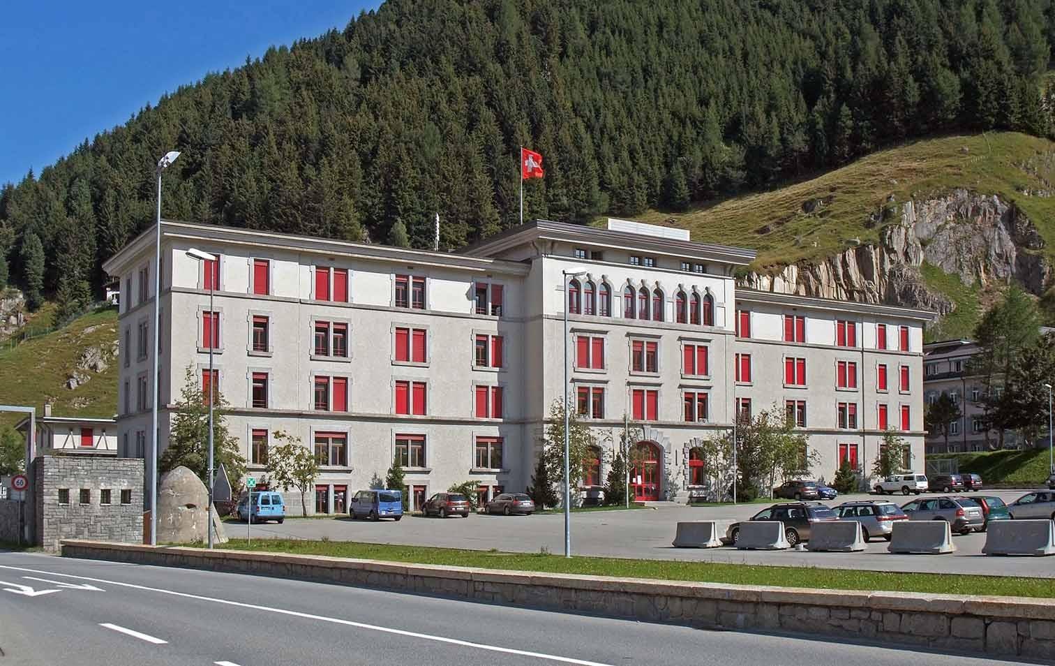 Kaserne Altkirch in Andermatt
