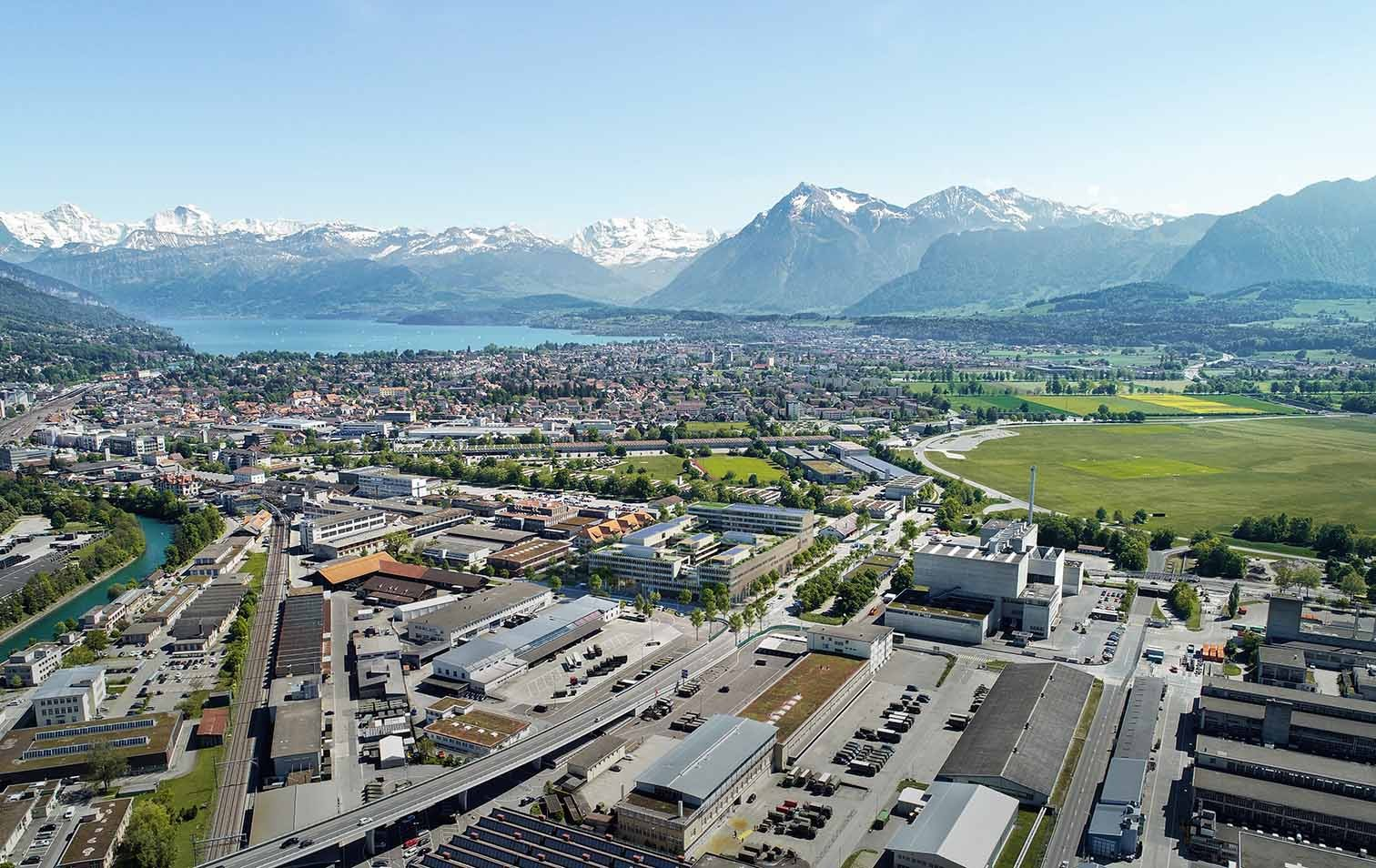 Visualisierung Campus Thun
