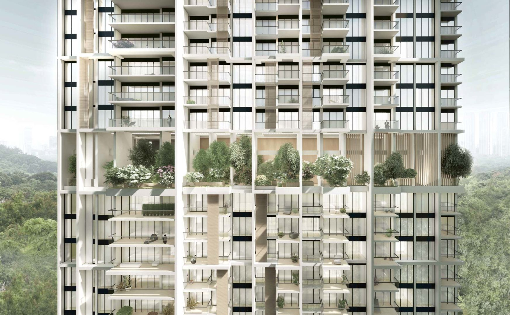 Avenue South Residences in Singapur