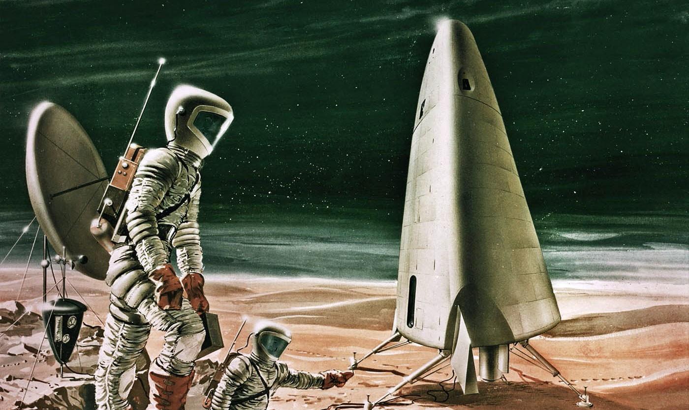 Mars-Kolonie (Illustration)
