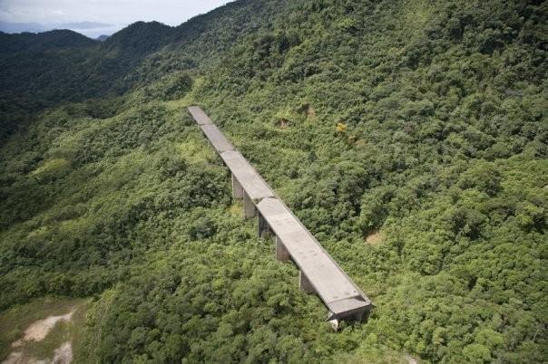 Viadukt Petrobas in Brasilien