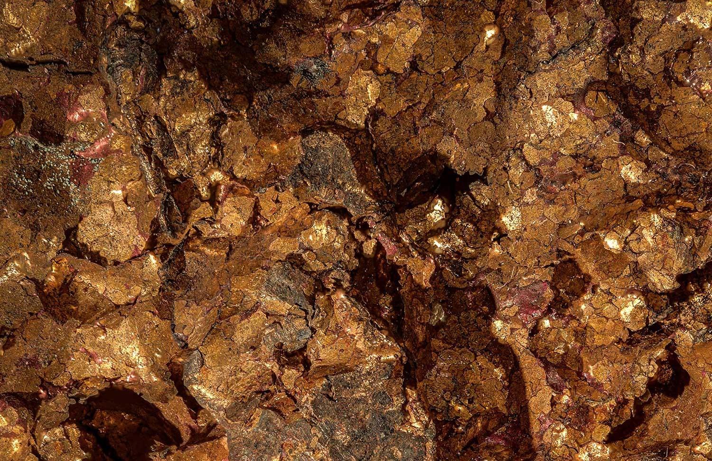 Kupfer vergrössert