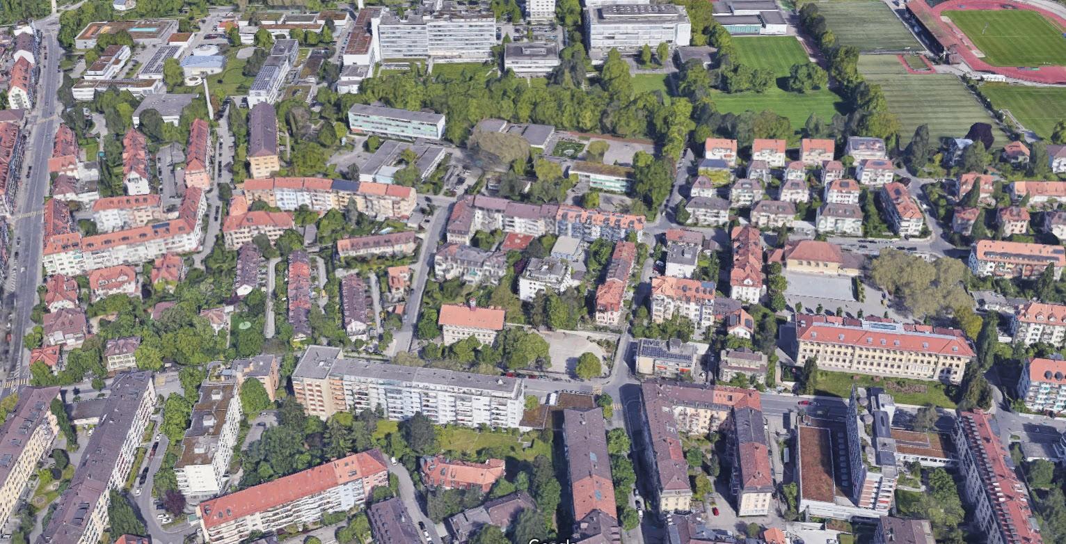 Hochfeld-Quartier in der Stadt Bern