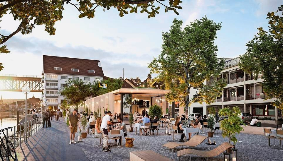 Restaurant Gassa, Areal «Fischerhäusern», Schaffhausen