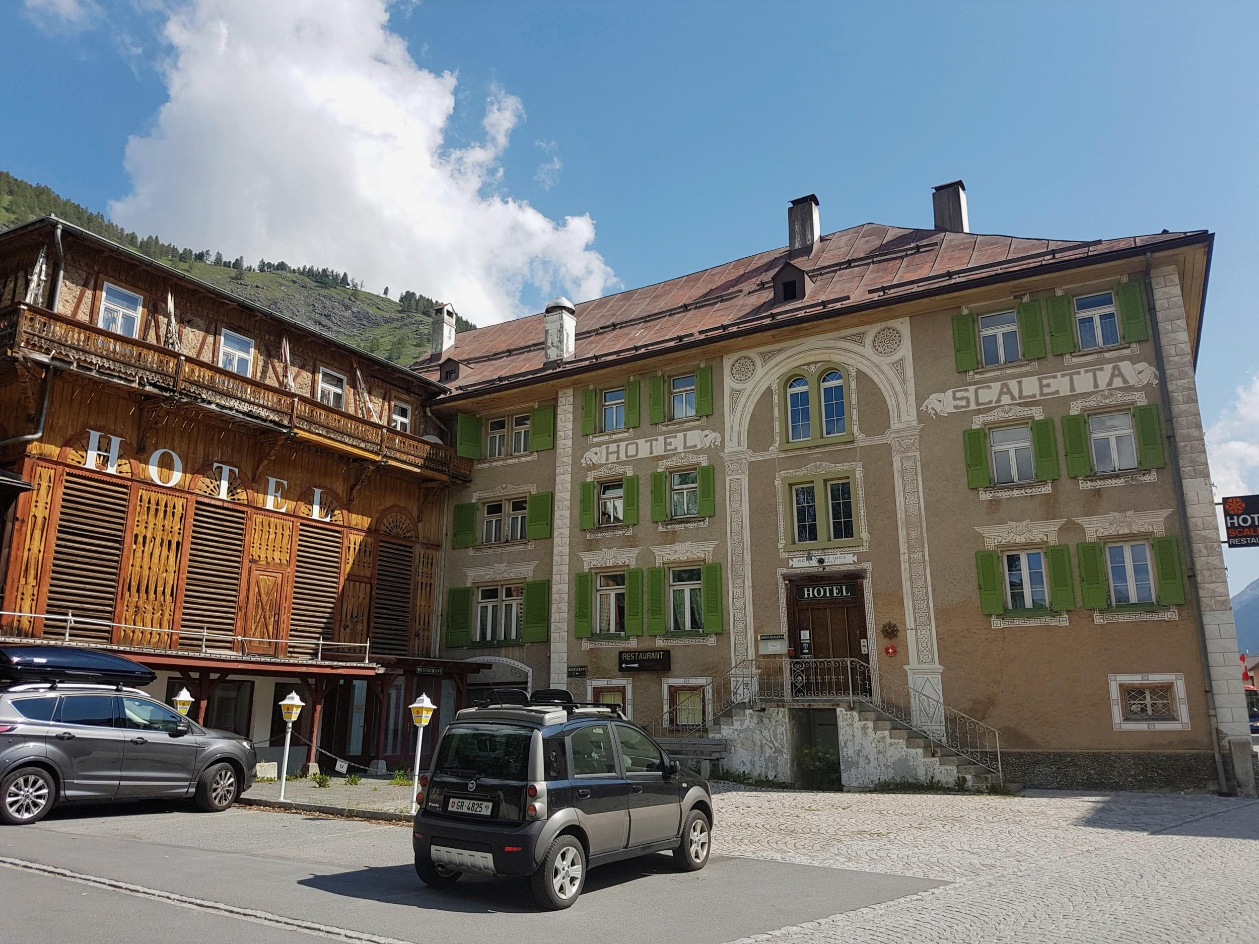 Sanierung Hotel Scaletta, S-chanf