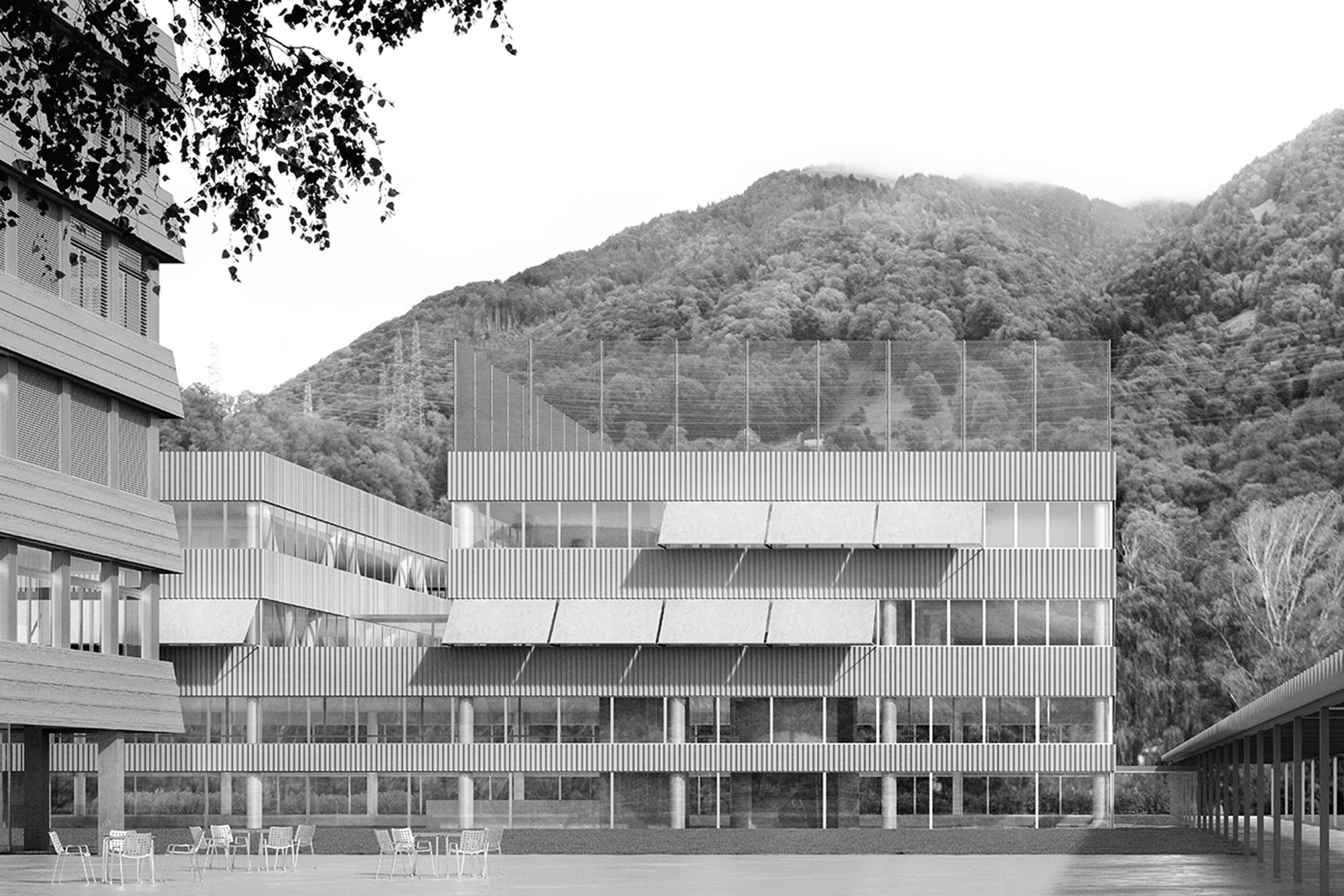 Erweiterung Berufsfachschule, Ziegelbrücke