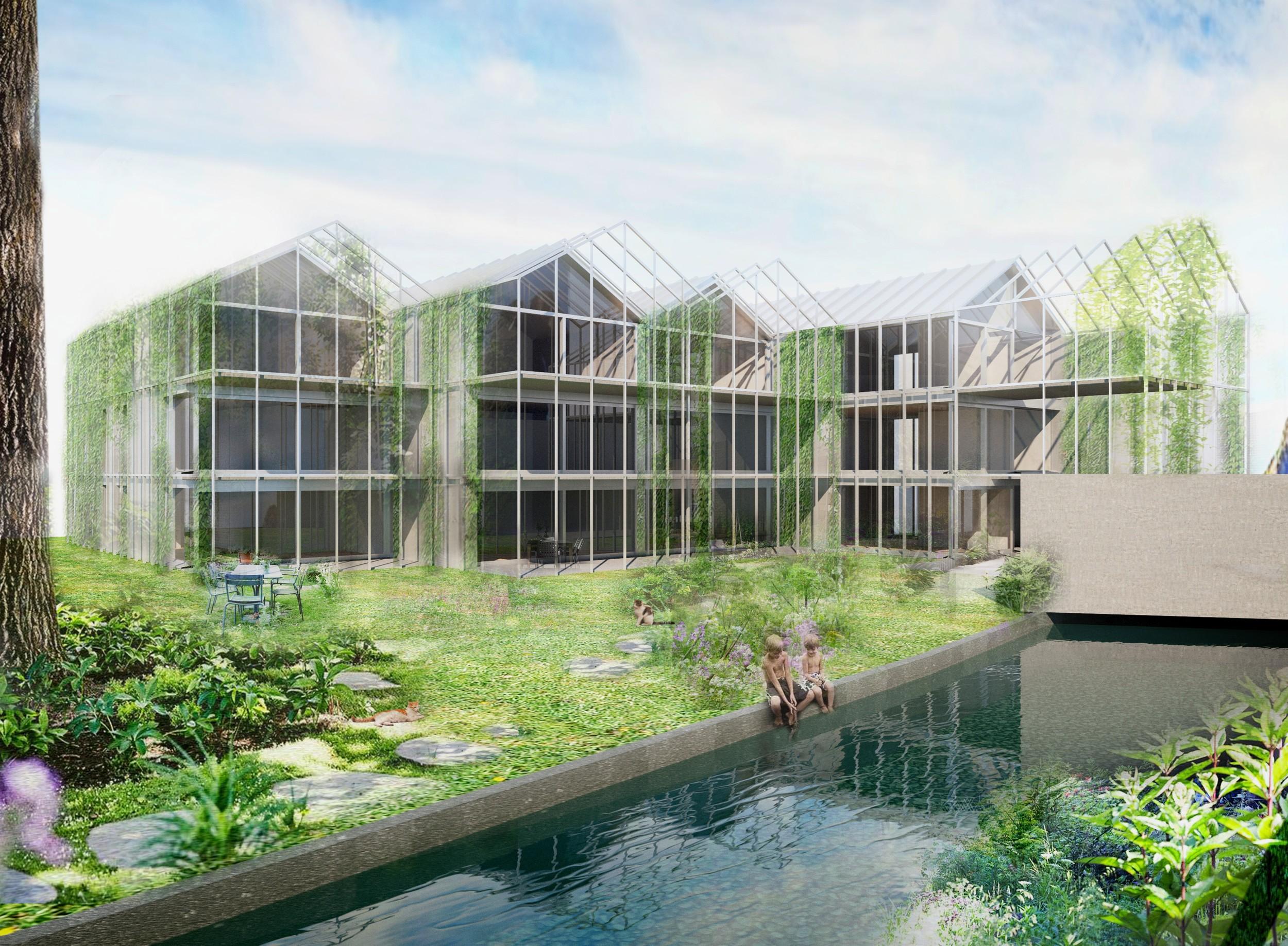 Eigentumswohnungen, Areal Eberle Floristik, Näfels