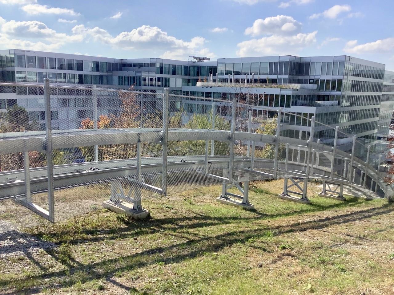 Standseilbahn von Circle-Überbauung zum neuen Flughafnpark