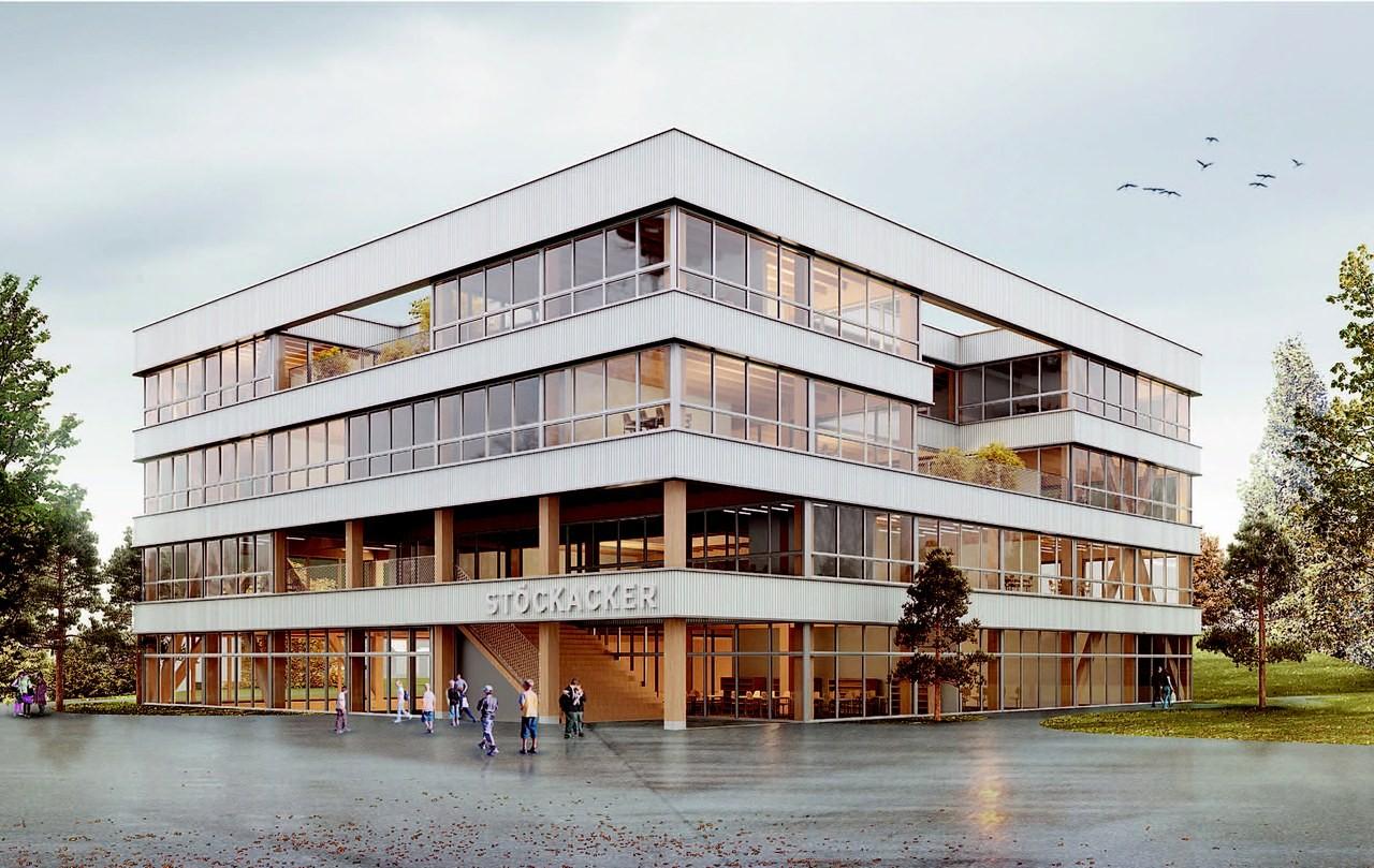 Visualisierung Erweiterung Volksschule Stöckacker