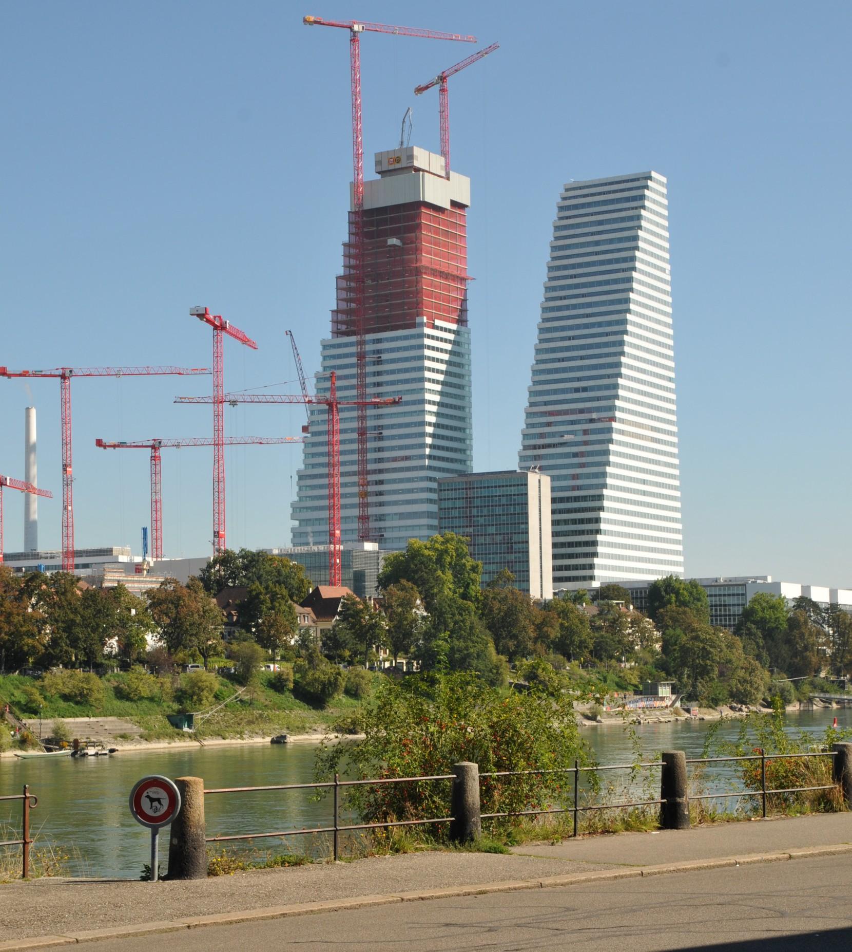 Roche-Bau 2 in Basel
