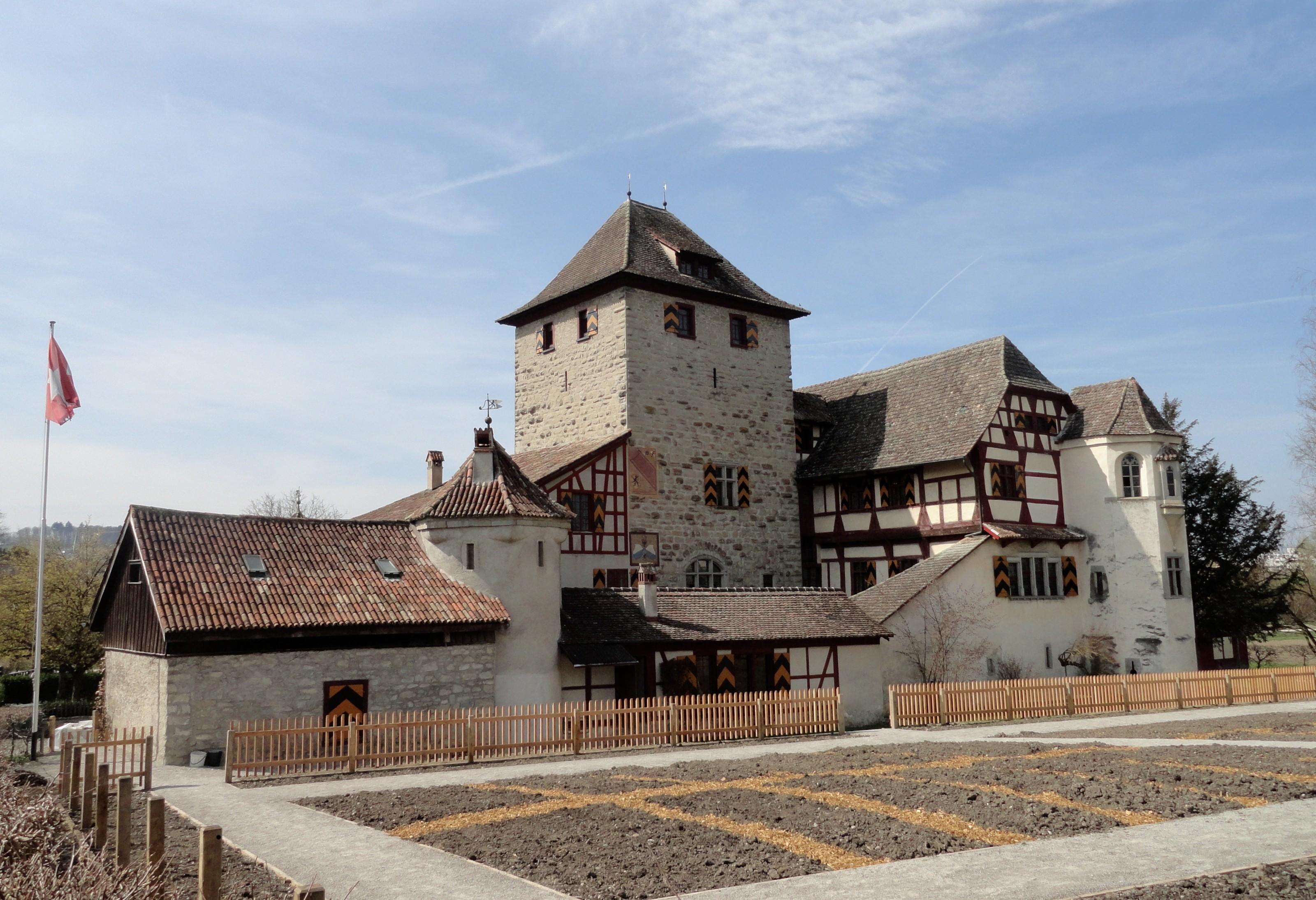 Schloss Hegi Winterthur Ostseite