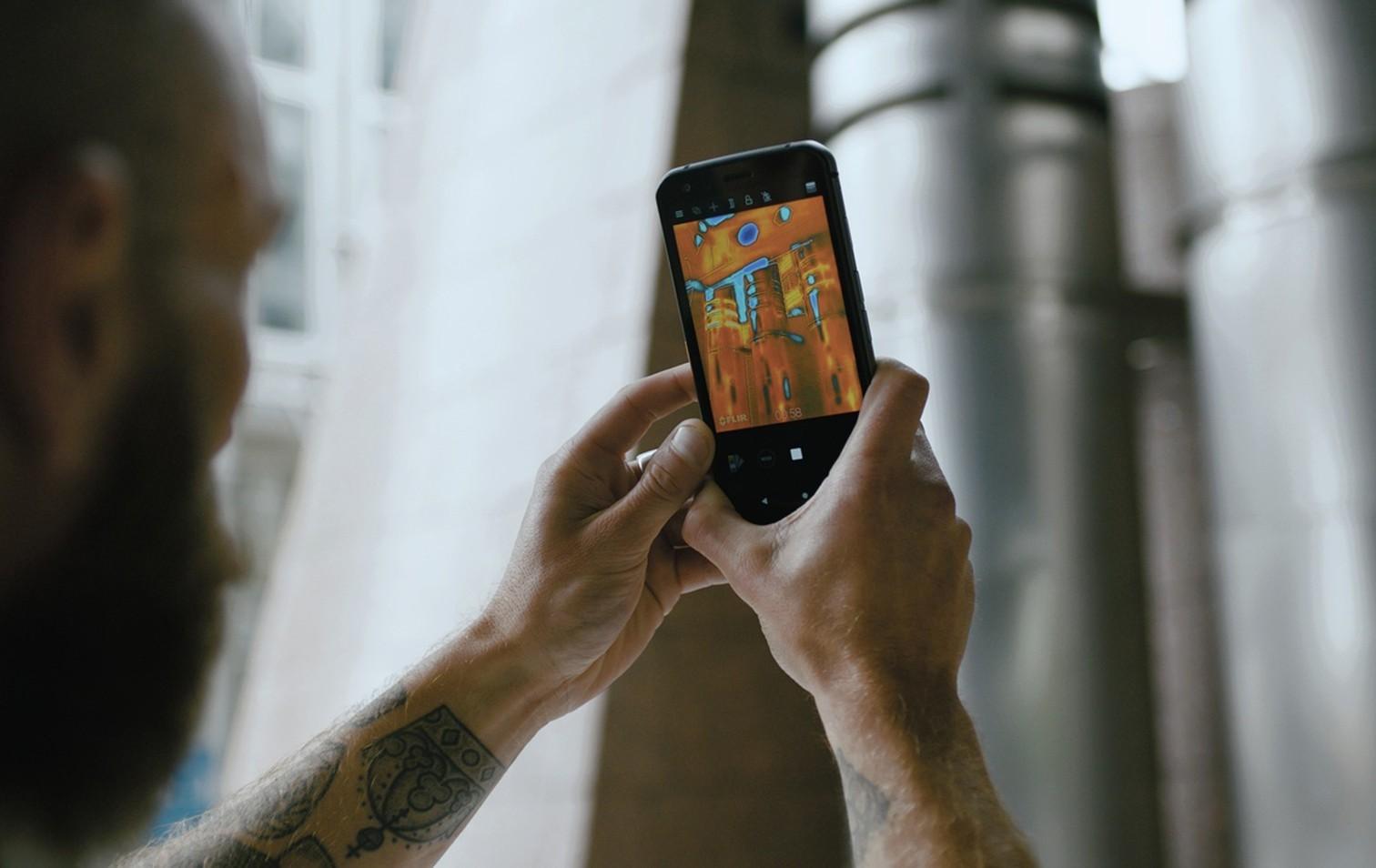 Smartphone Cat S62 Pro von Cat phones