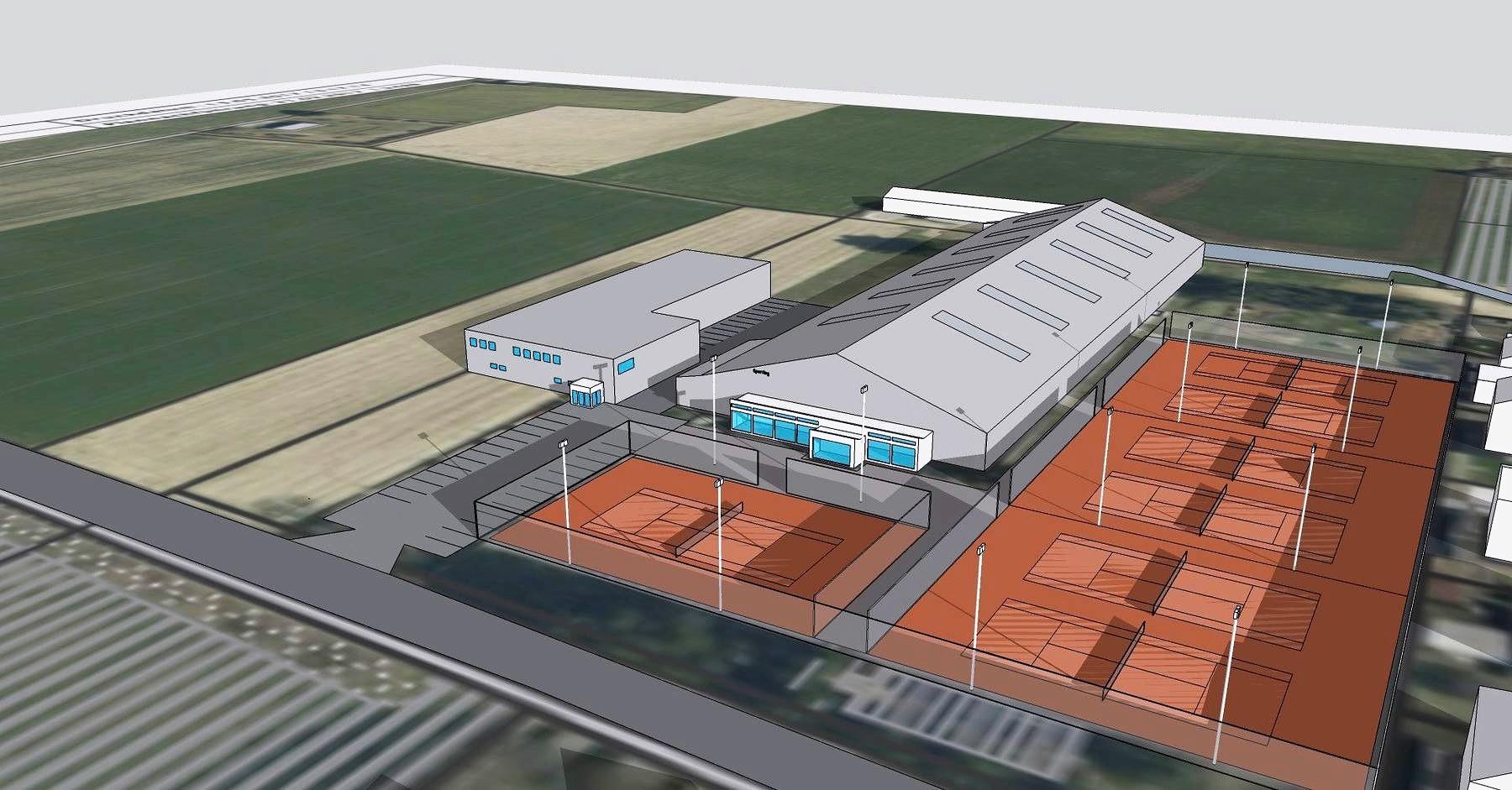 Visualisierung Curlinghalle Derendingen