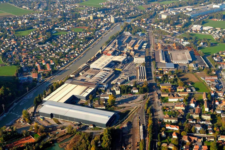 Stahlwerk im solothurnischen Gerlafingen