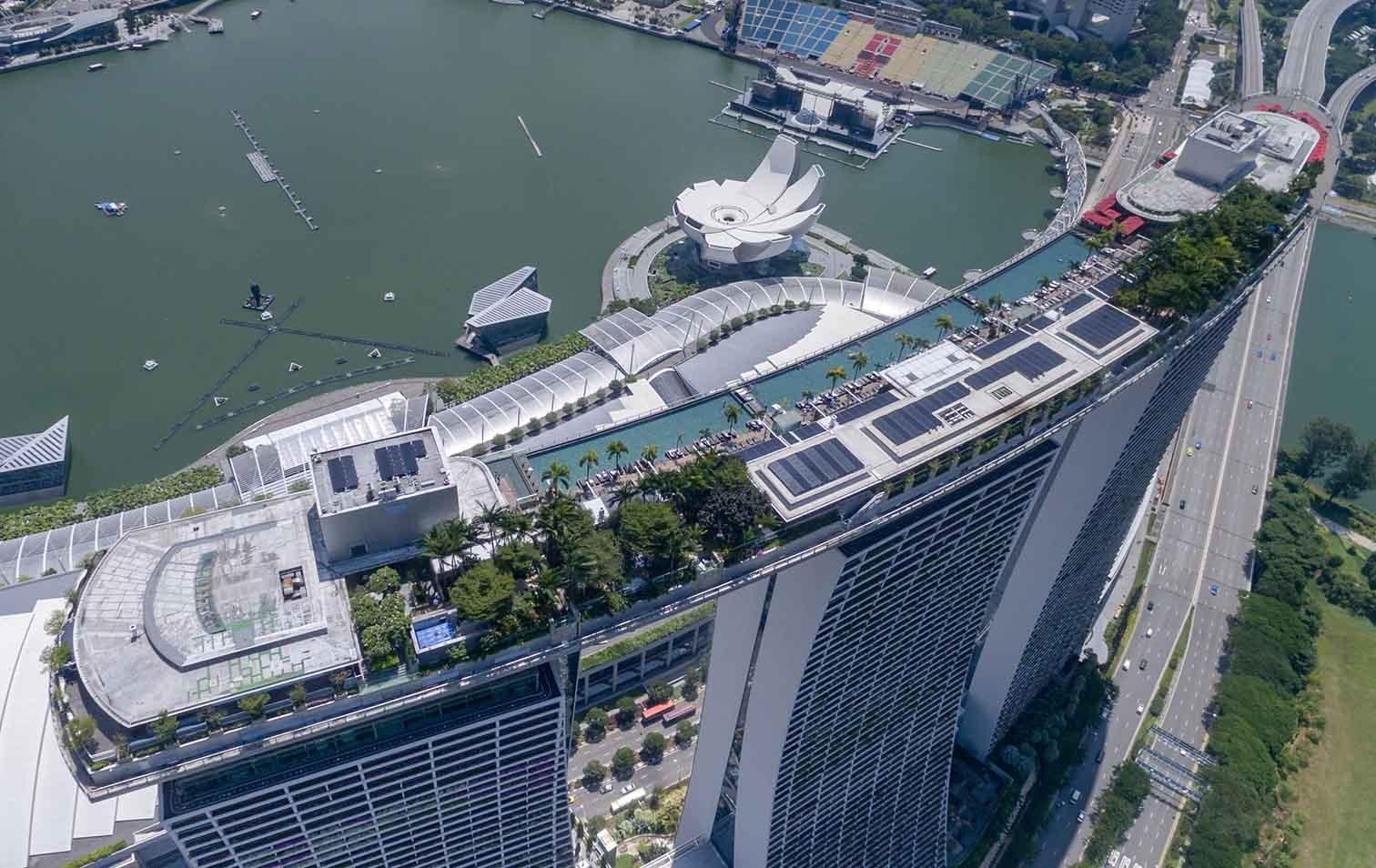 Marina Bay Sands in Singapur