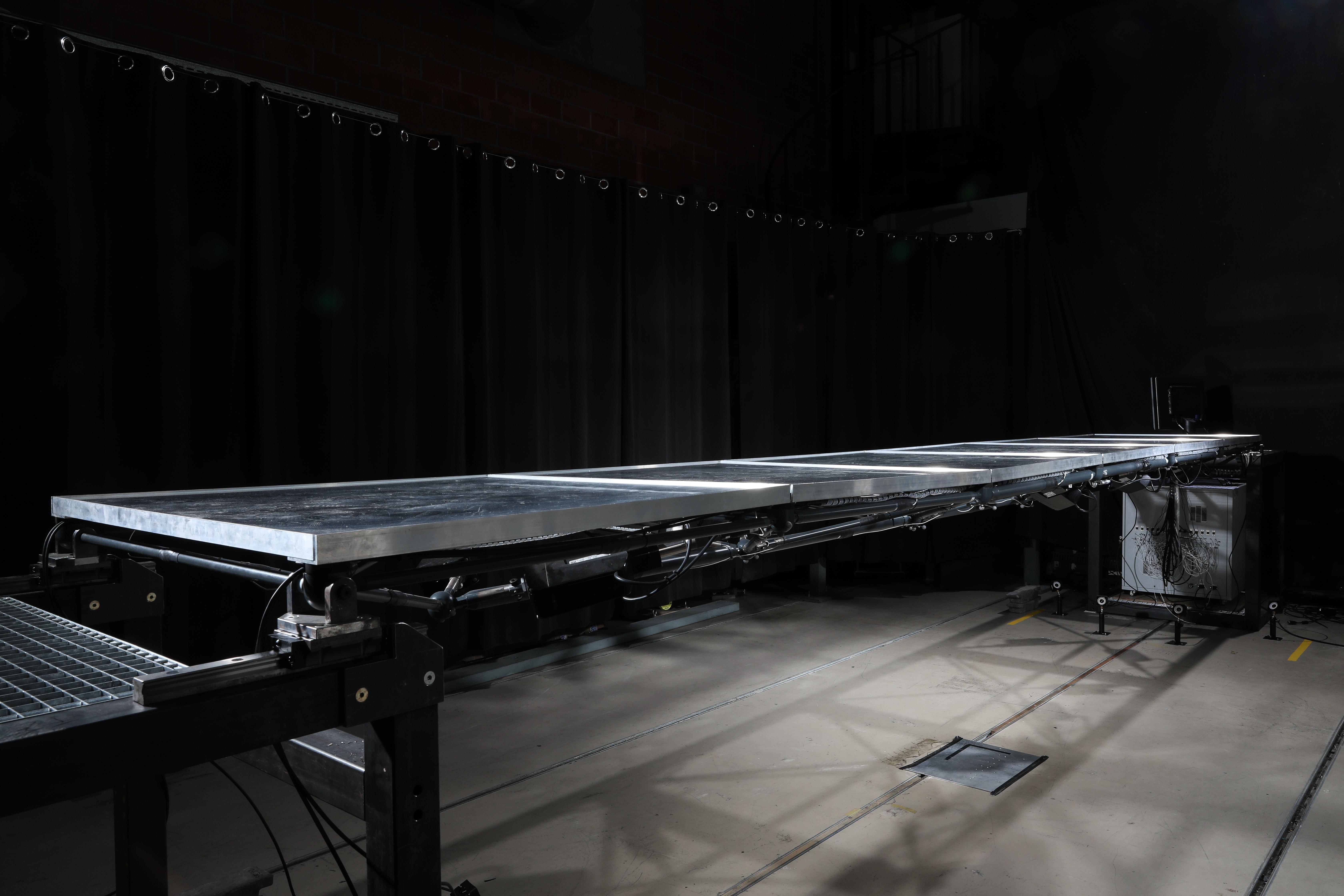 Prototyp einer Fussgängerbrücke der EPFL
