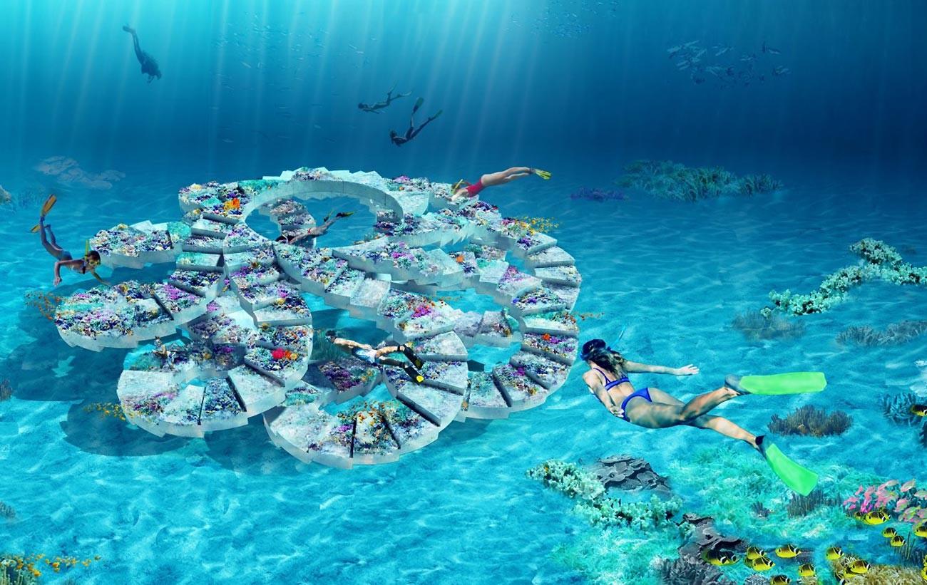 Unterwasserpark (Visualisierung)