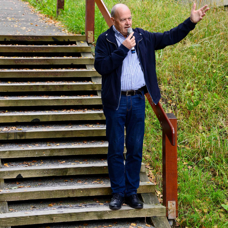 Edgar Heilig Treppen St. Gallen