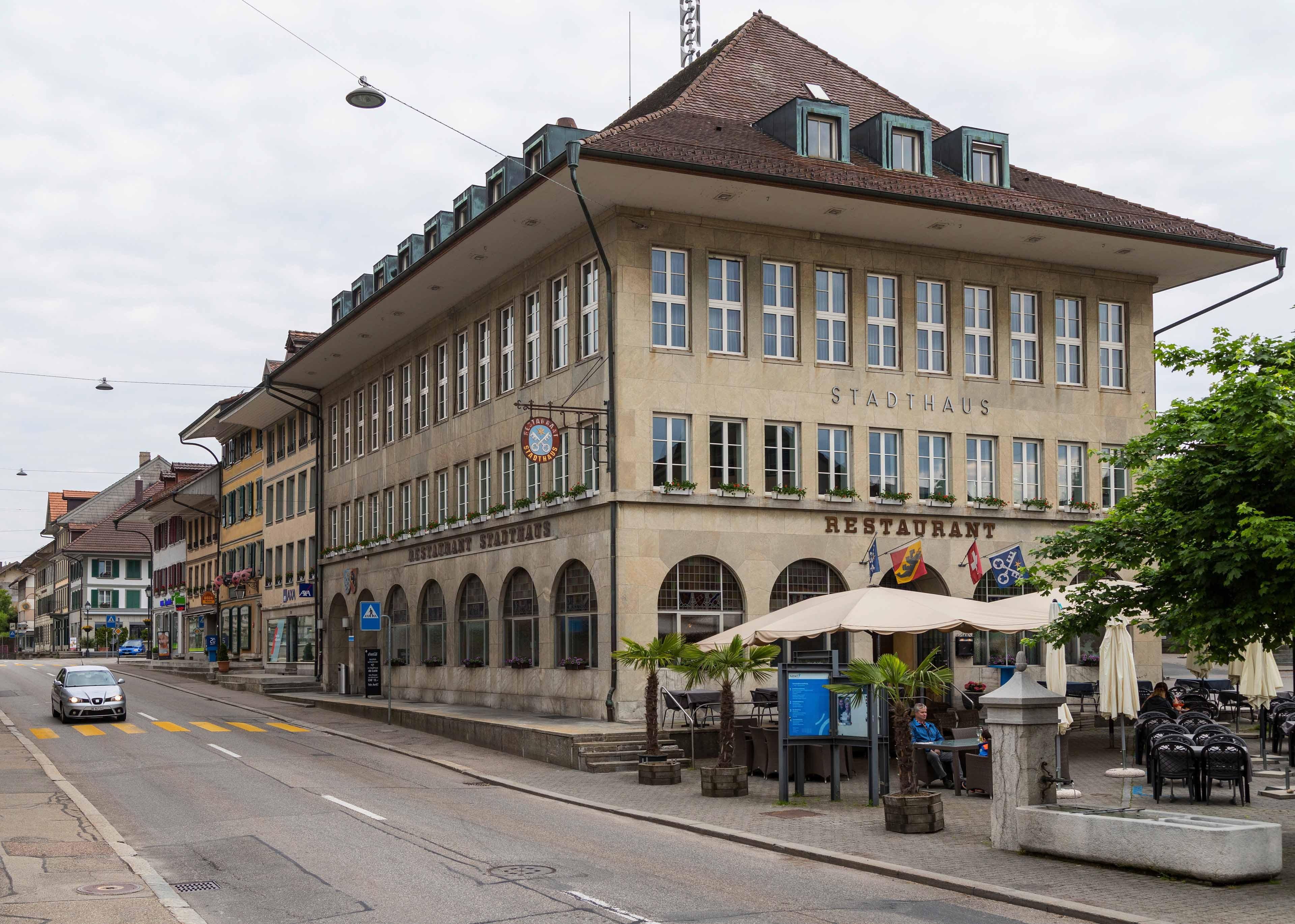 Huttwil Stadthaus