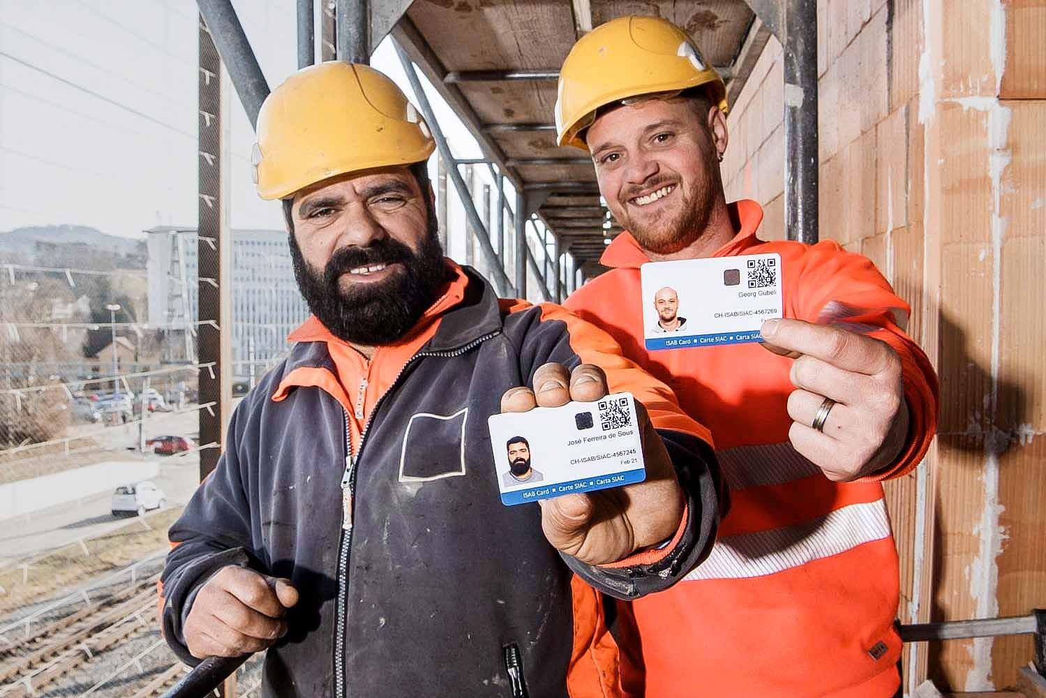 Badge Informationssystem Allianz Bau Isab
