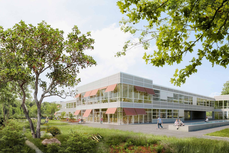 Schulanlage Kleinholz Olten Siegerprojekt Neff Neumann Architekten AG