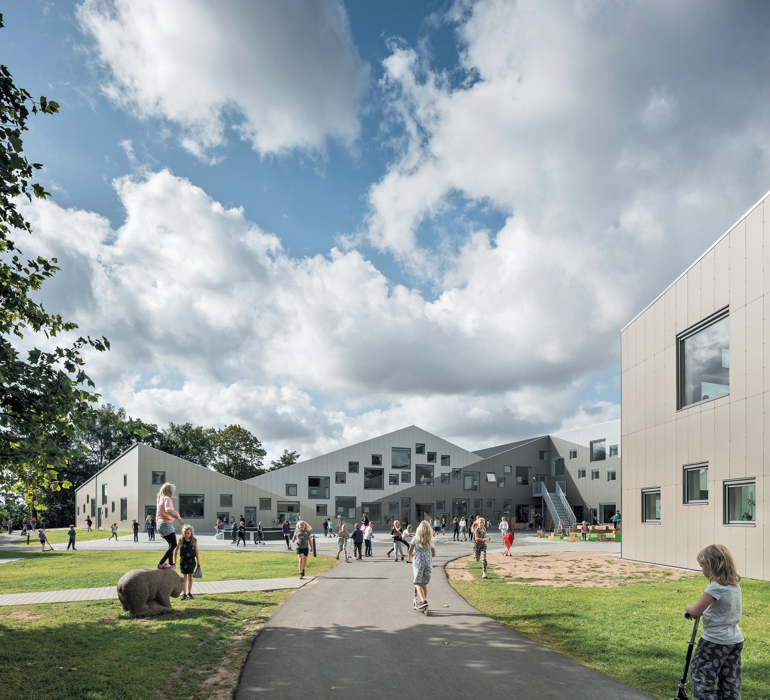 Schulbauten, Gesamtschule in Odder, Dänemark