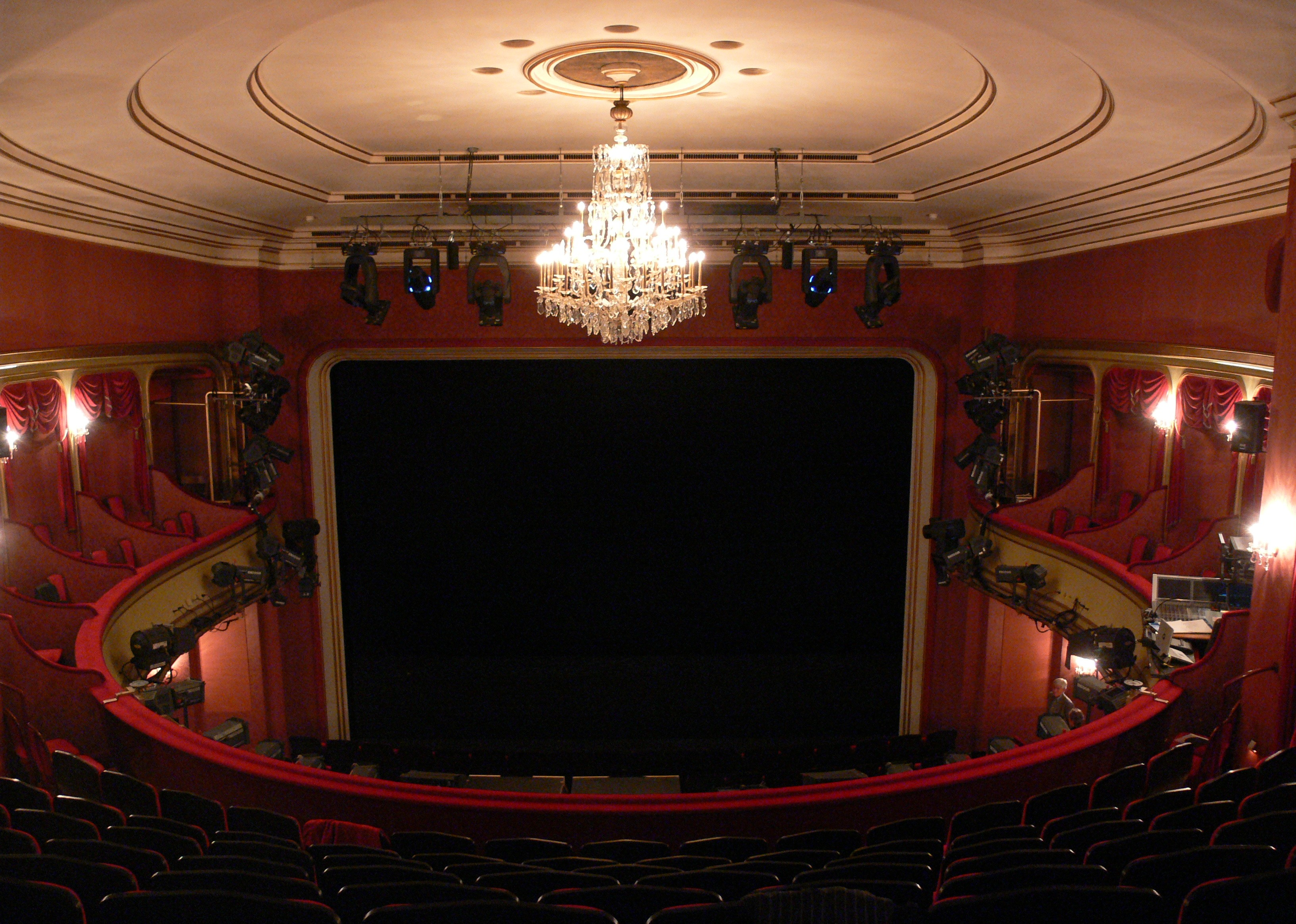 Saal Schauspielhaus Zürich