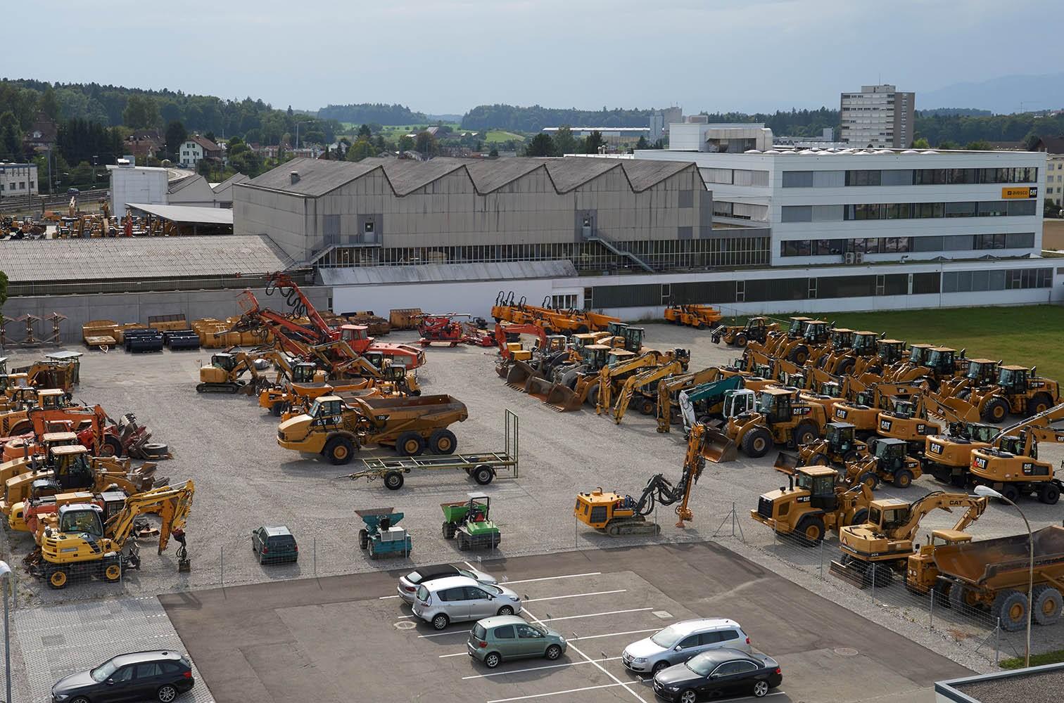 Maschinenpark von der Avesco AG