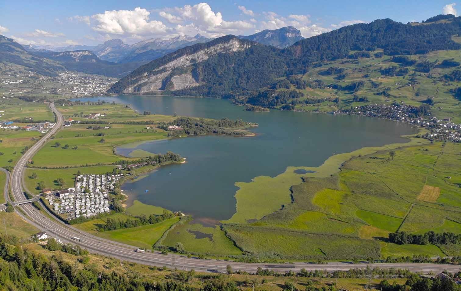 Lauerzersee im Kanton Schwyz