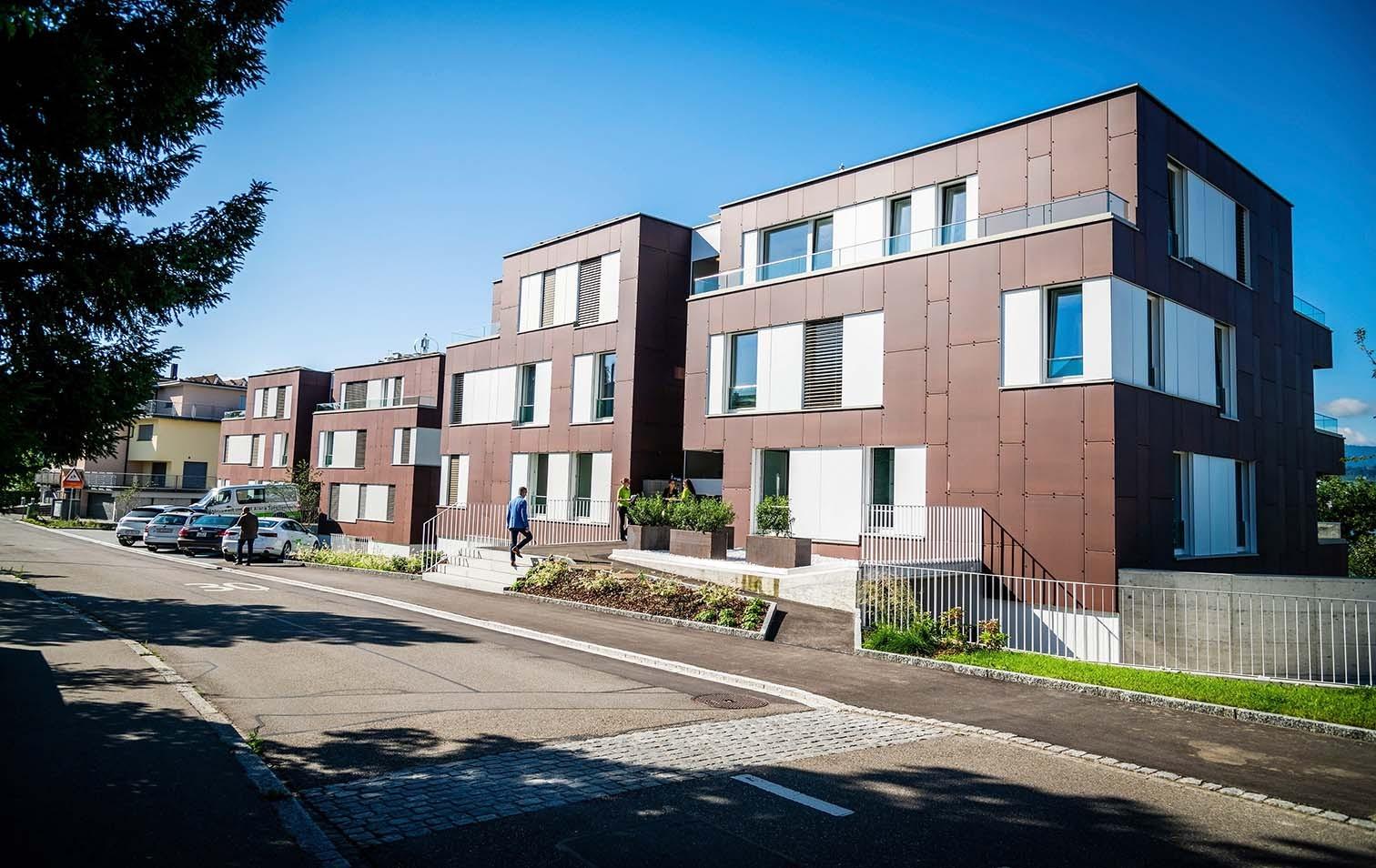 Überbauung in Männedorf gewinnt Watt d'Or 2021