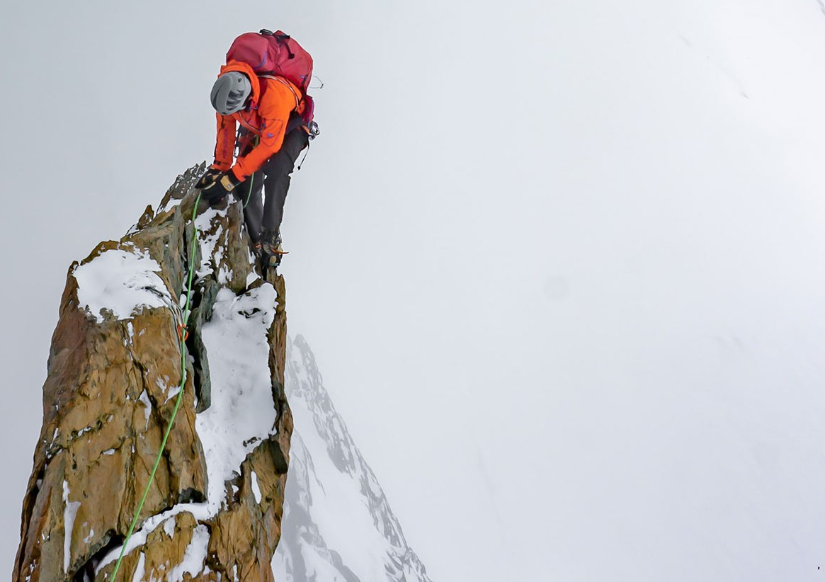 Bergsteiger (Symbolbild)