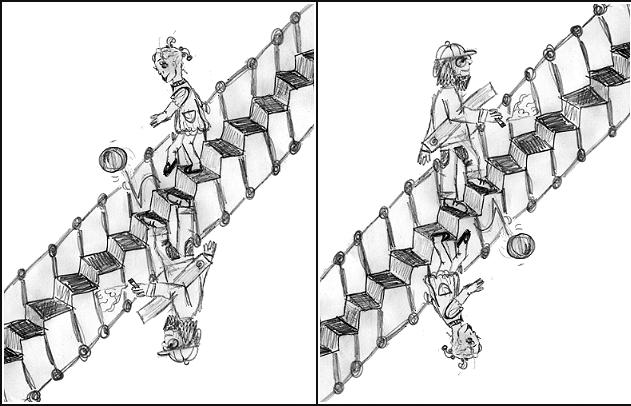Schroeder Treppe