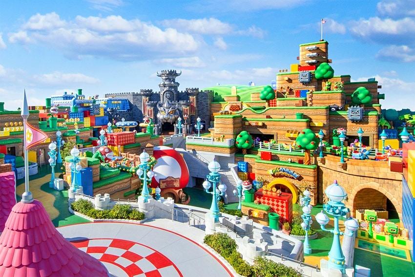 Super Nintendo World in Osaka