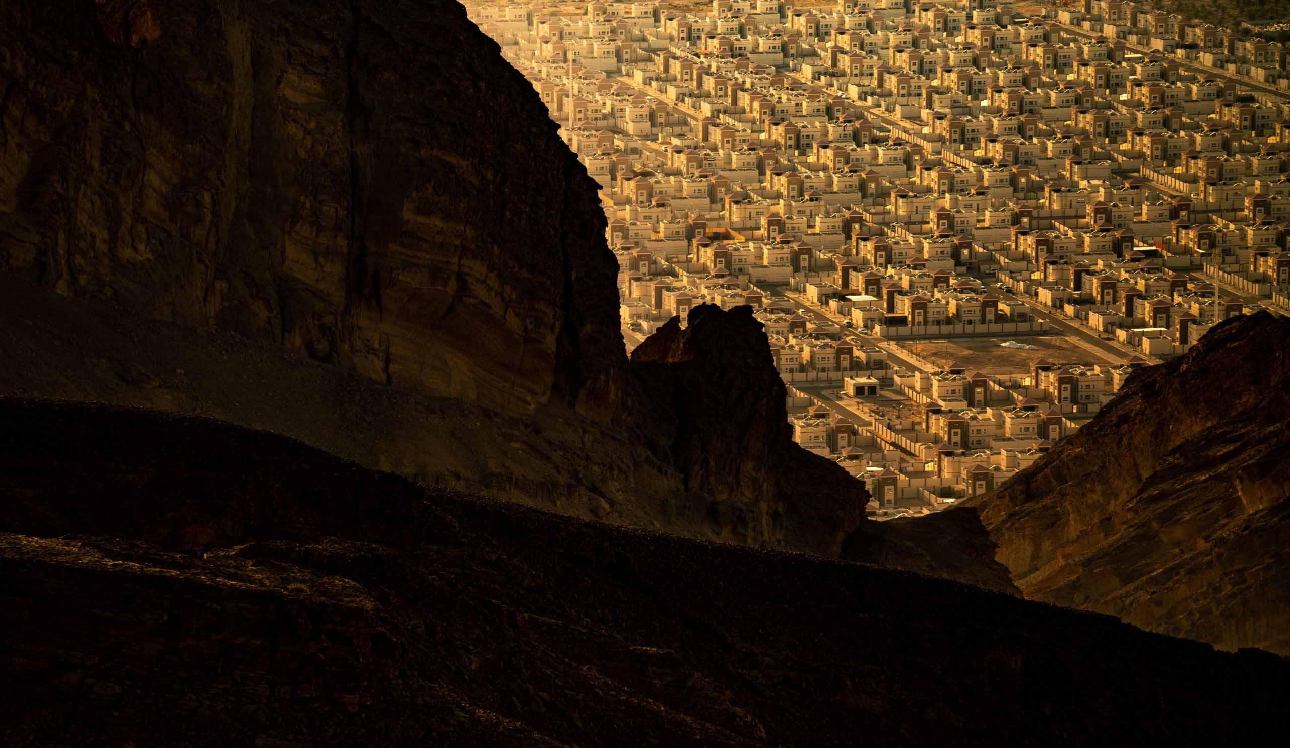 Stadt Al Ain in den Vereinigten Arabischen Emiraten
