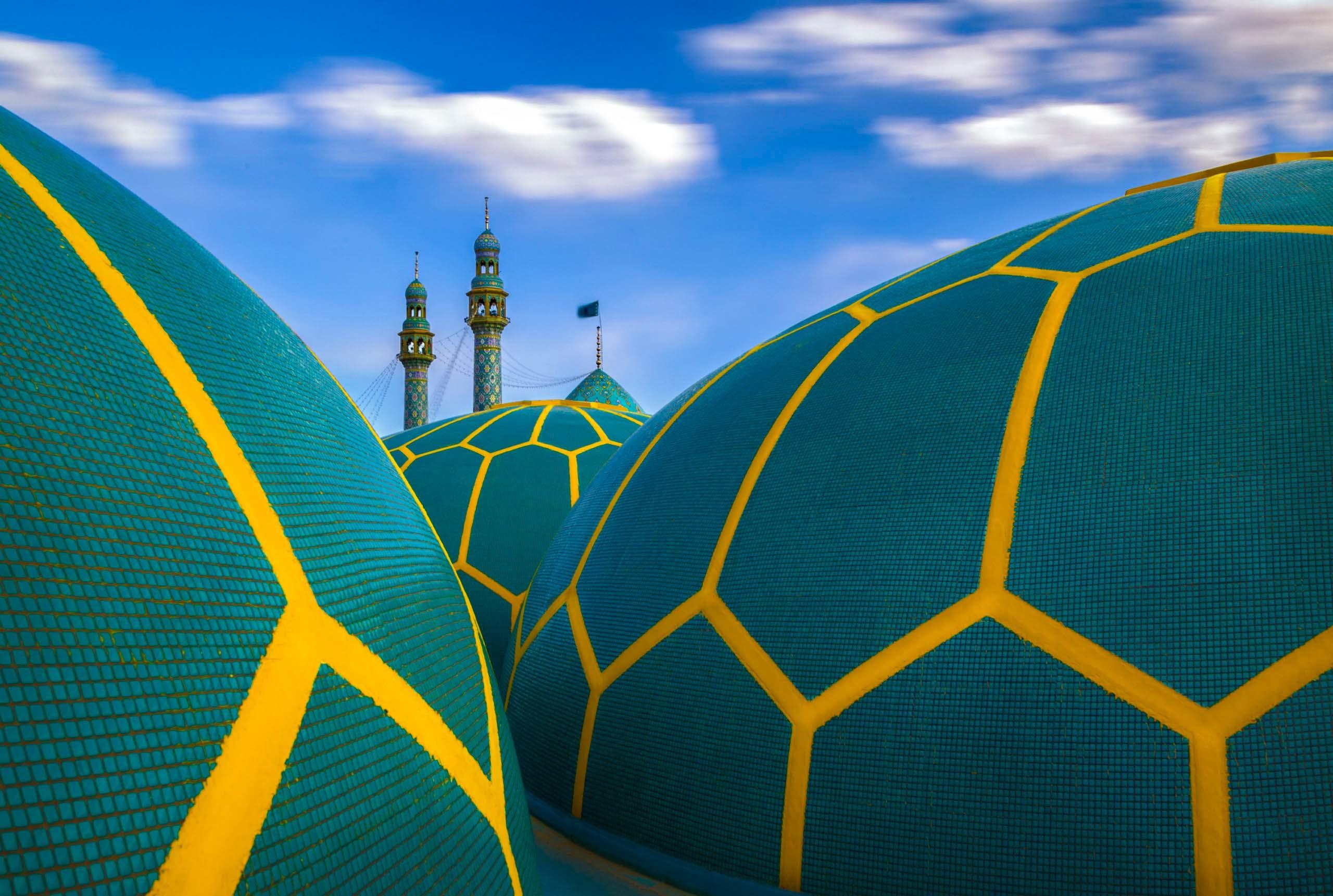 Dschamkaran Moschee im Iran