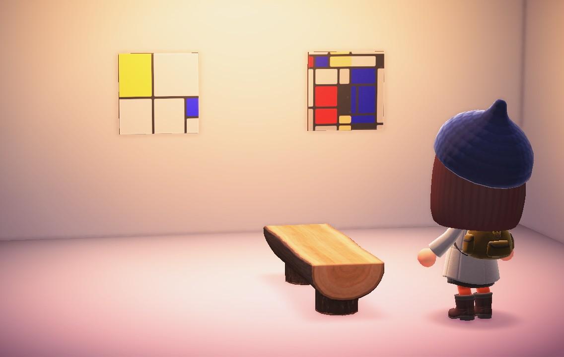 Kunstmuseum Fondation Beyeler in Animal Crossing