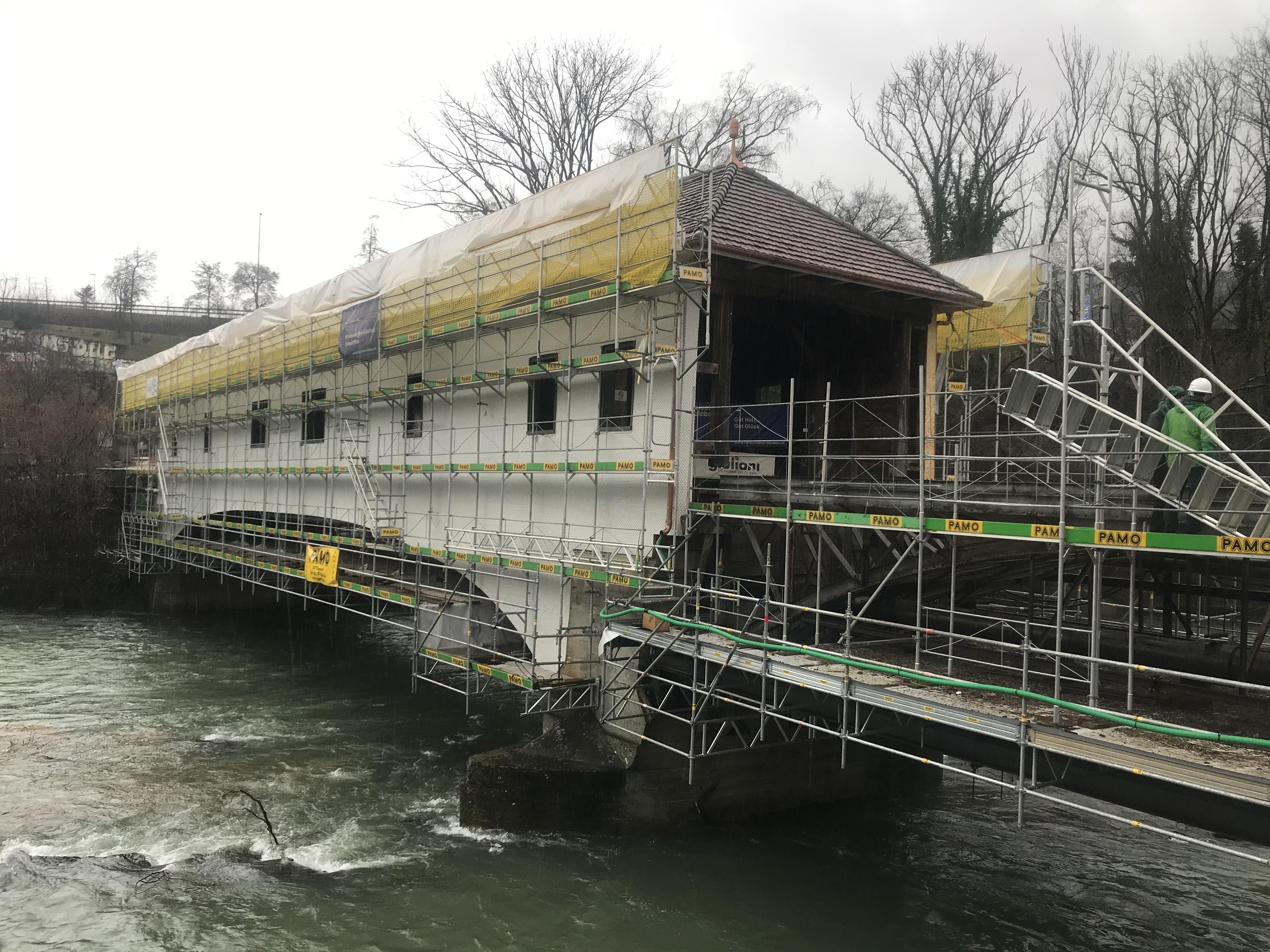 Eisenbrücke Wettingen 2