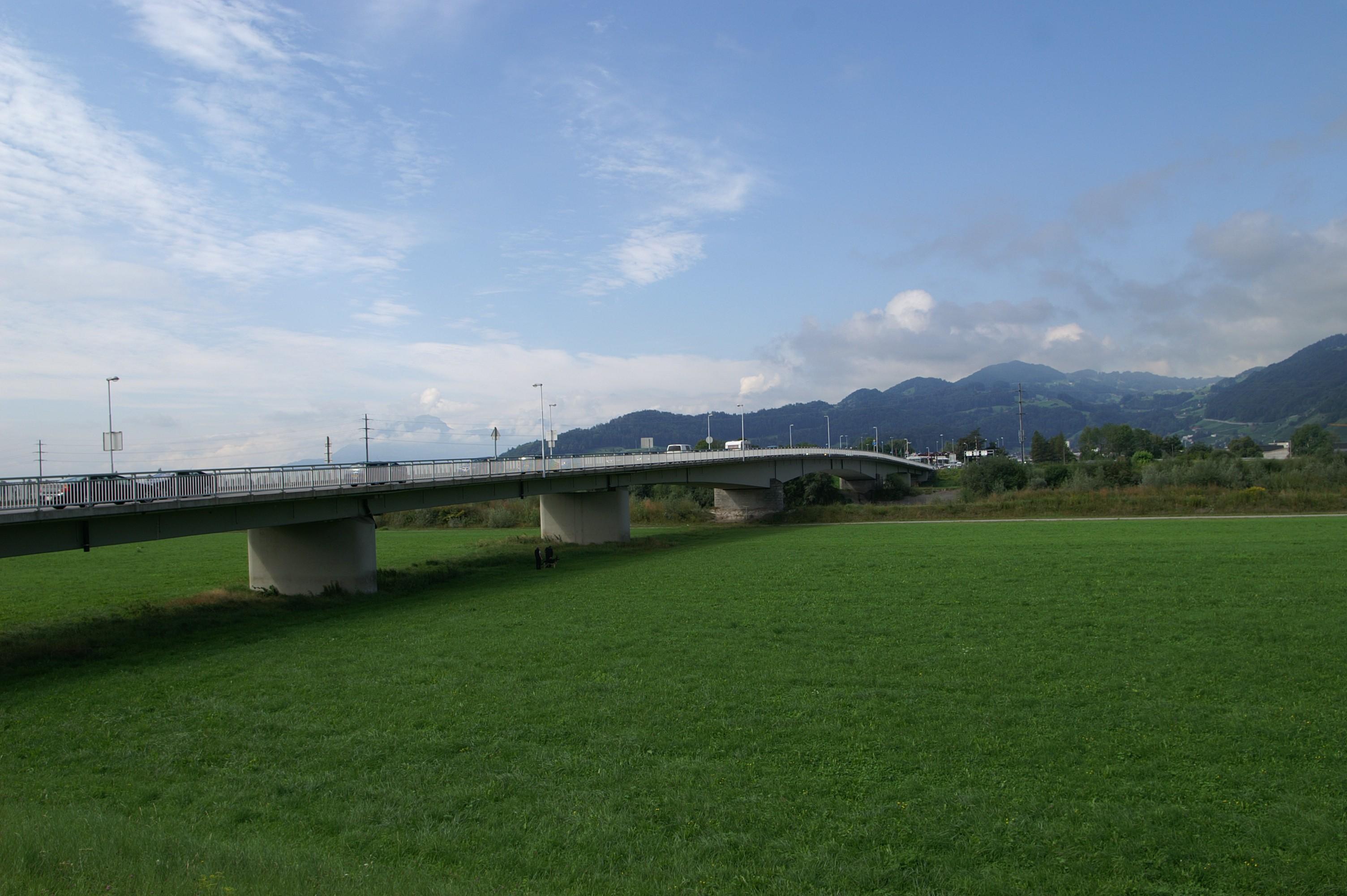 Grenzbrücke Lustenau Au